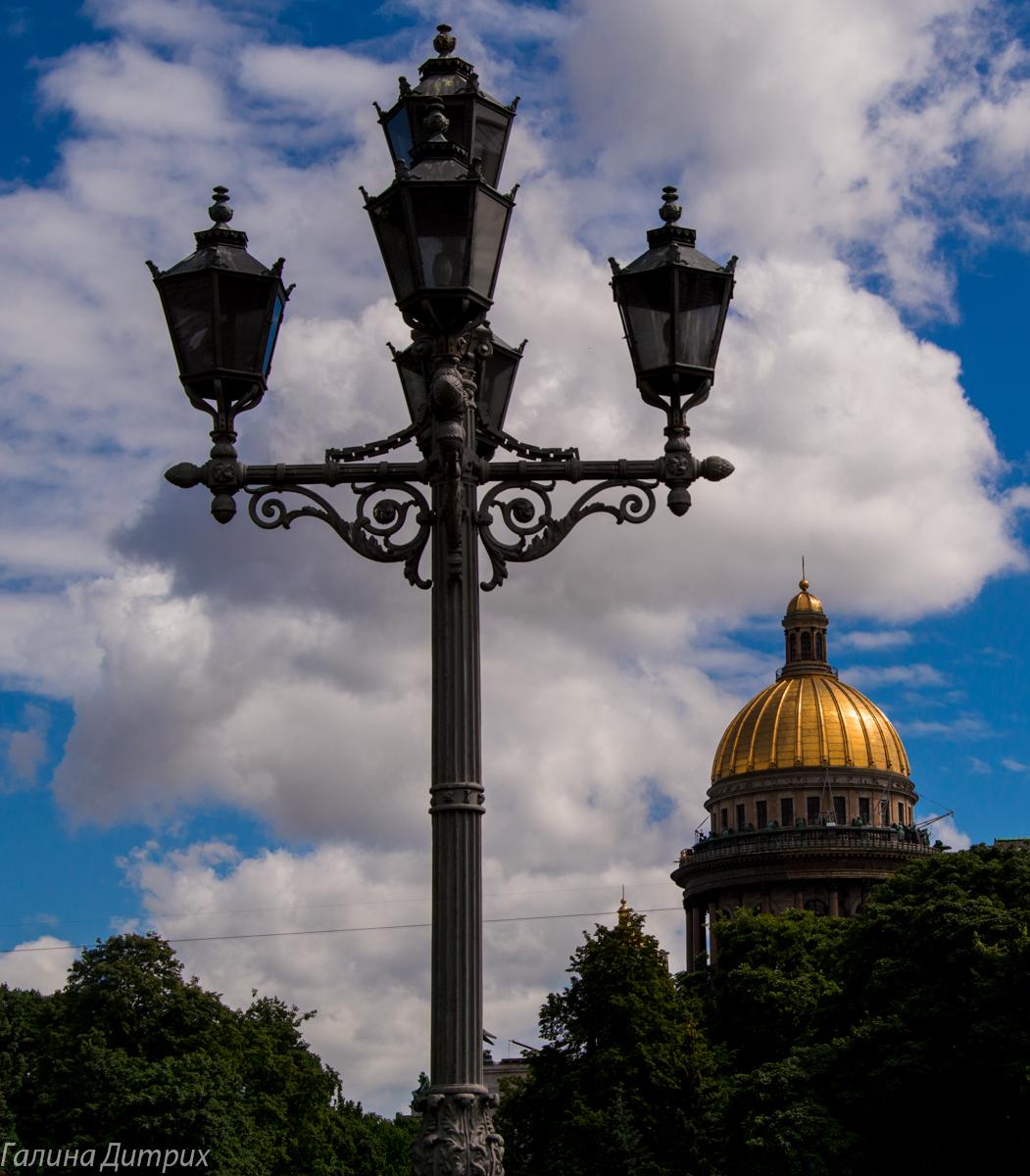 Питерский фонарь фото