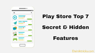 Play store all tricks and features list in hindi