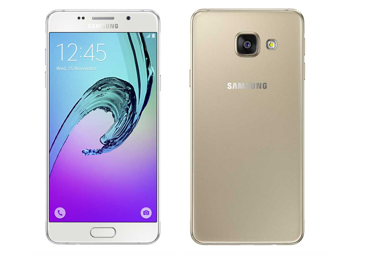 how to change password on samsung a3