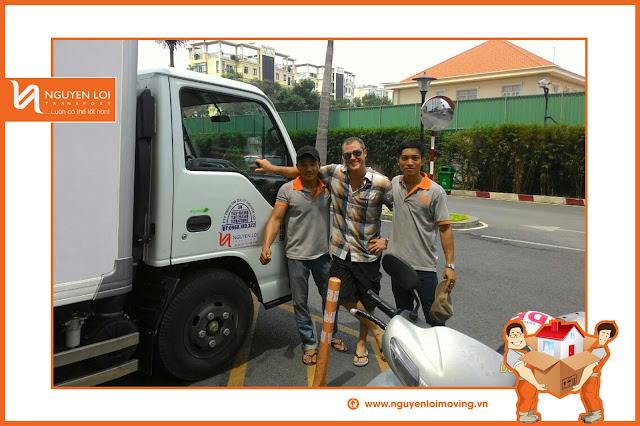 Thuê xe tải chở hàng ở TPHCM