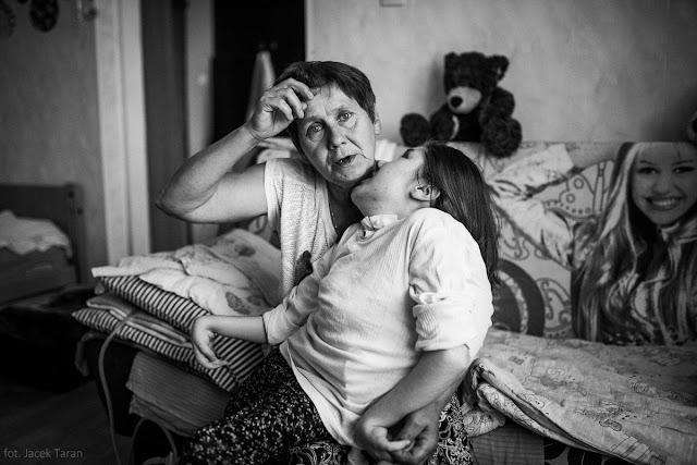 Hospicjum Alma Spei, Gabrysia, fot. Jacek Taran