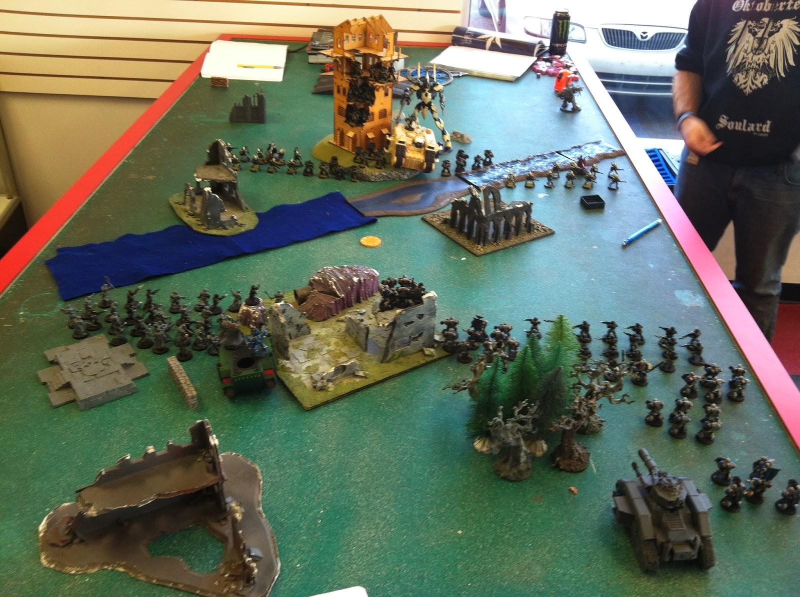 1600 vs  800/800 Battle Report