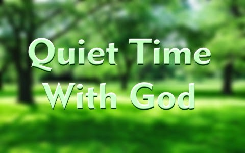 quiet time with god - photo #4