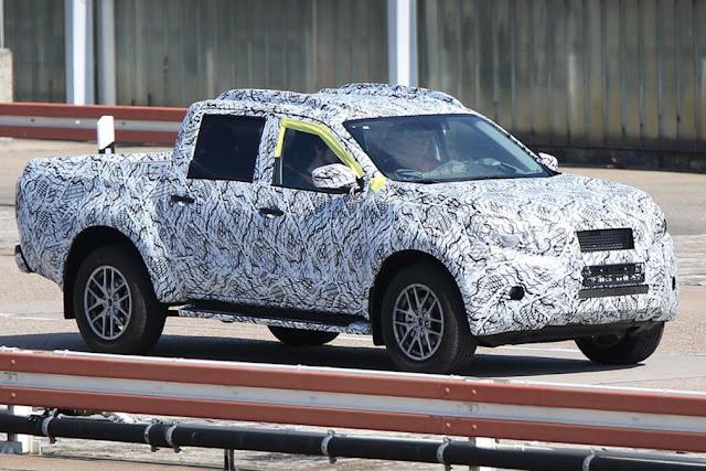 xe bán tải Mercedes-Benz Xe bán tải Mercedes-Benz chuẩn bị ra mắt mercedes x class