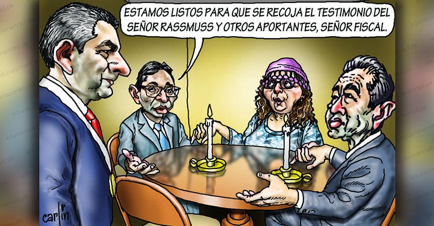 Carlincaturas Lunes 25 Marzo 2019 - La República