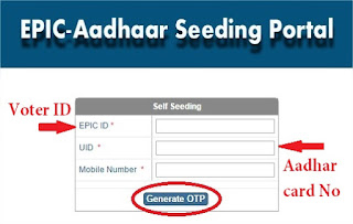 Link Voter Id Card To Aadhar Card Online