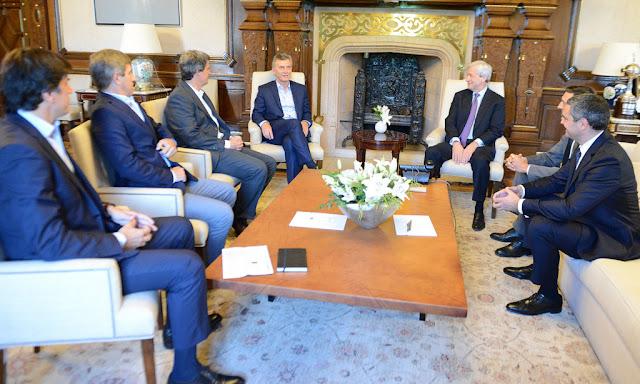Macri recibió al CEO de JP Morgan Chase