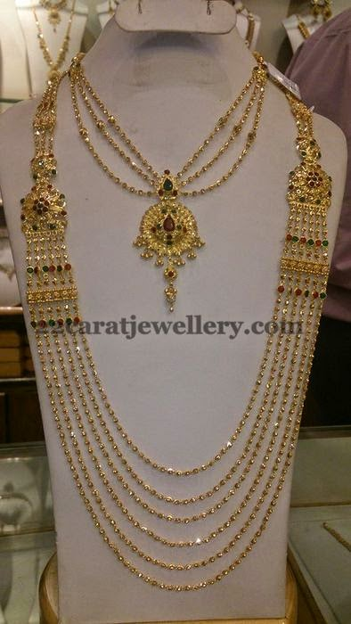 Delicate Yet Elegant Chandra Haar Jewellery Designs
