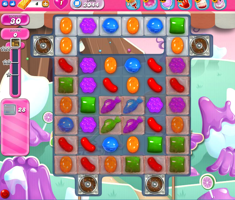 Candy Crush Saga 2044