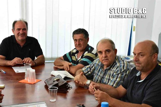 Σύσκεψη της ΟΕΒΕΑ για τα γραφεία του ΕΦΚΑ στην Αργολίδα