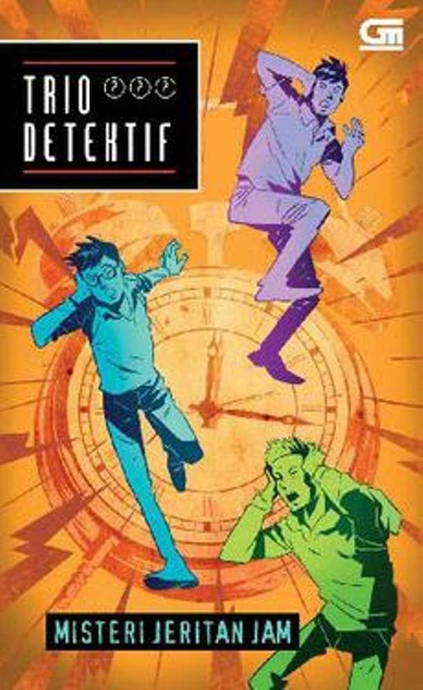 Trio Detektif 9- Misteri Jeritan Jam