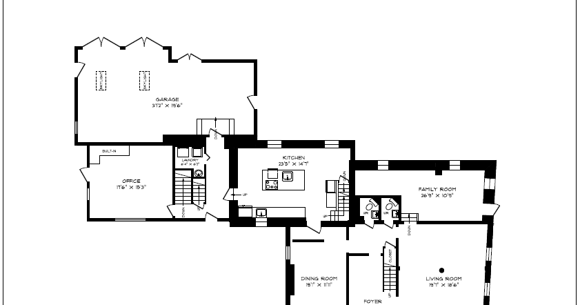 Cataract Hall: Floor Plans