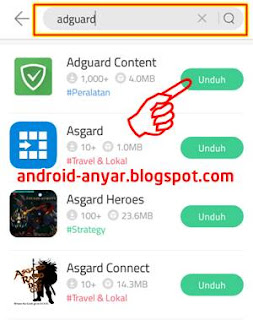 Download Adguard Premium Apk android via 9Apps
