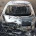 Pai e filho são mortos e veículo é incendiado em Catunda