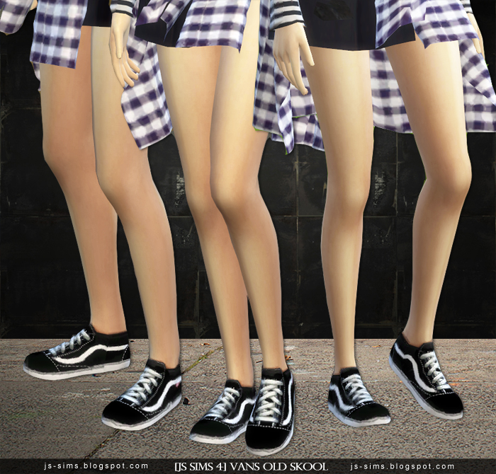 Sims  Vans Shoes Cc