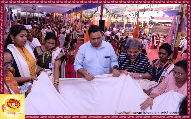 on-the occassion-of-ramnavami-shraddhawan-celebrate-talibharan-event-mumbai