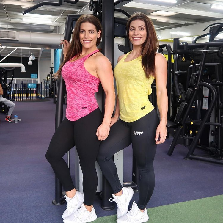 Jenny and Lucy West Female Bodybuilding