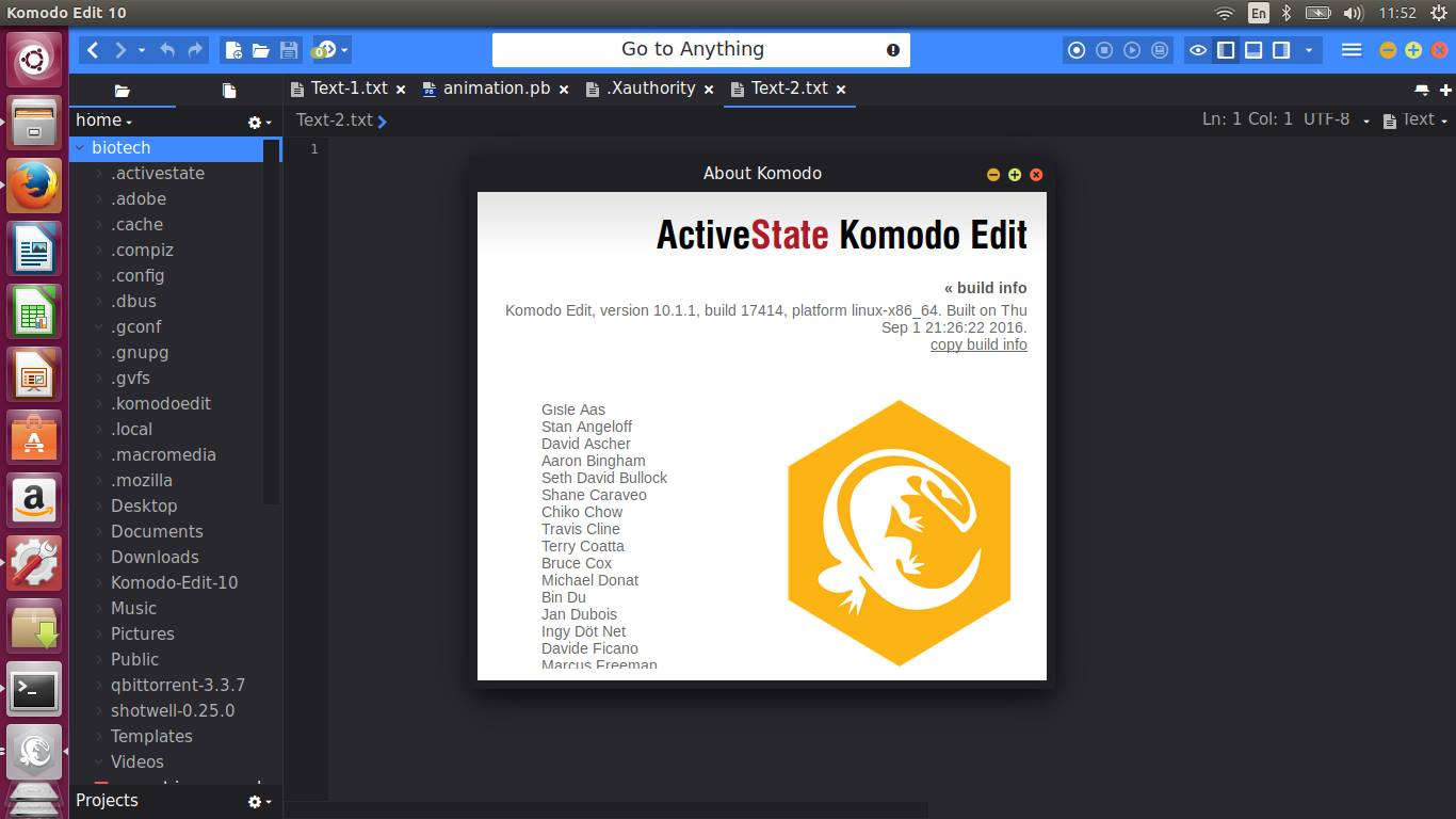 komodo edit 5.2
