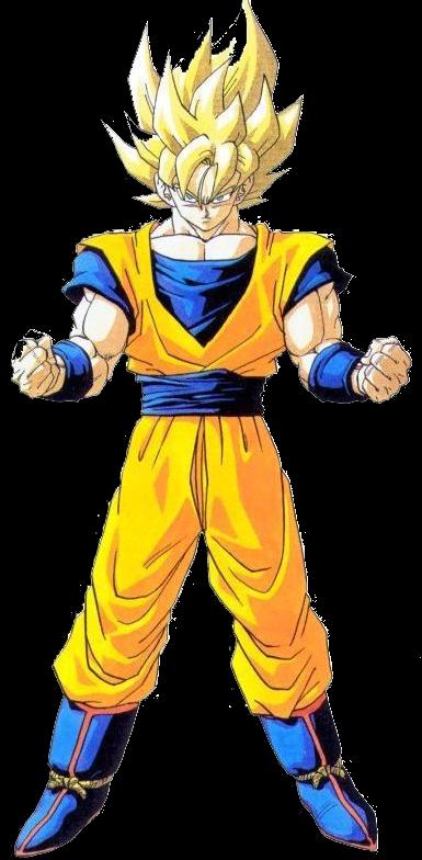 gambar Son Goku super saiya 1
