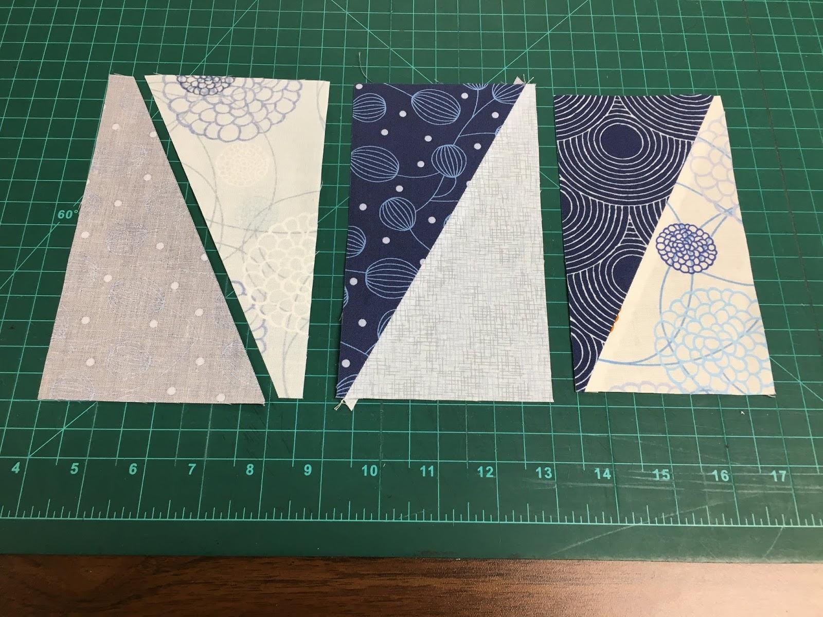 Ye Olde Sweatshop Modern Half Rectangle Quilt 104