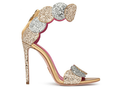 Oscar Tiye Spring Summer 2016 Afeff Glitter Gold