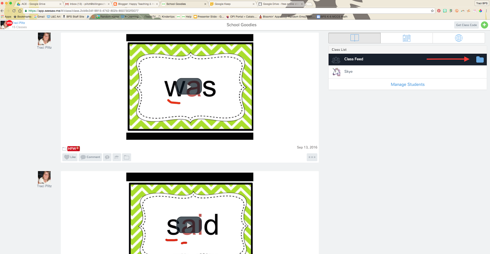 Happy Teaching & Happy Tech-ing!: Interactive Word Wall with