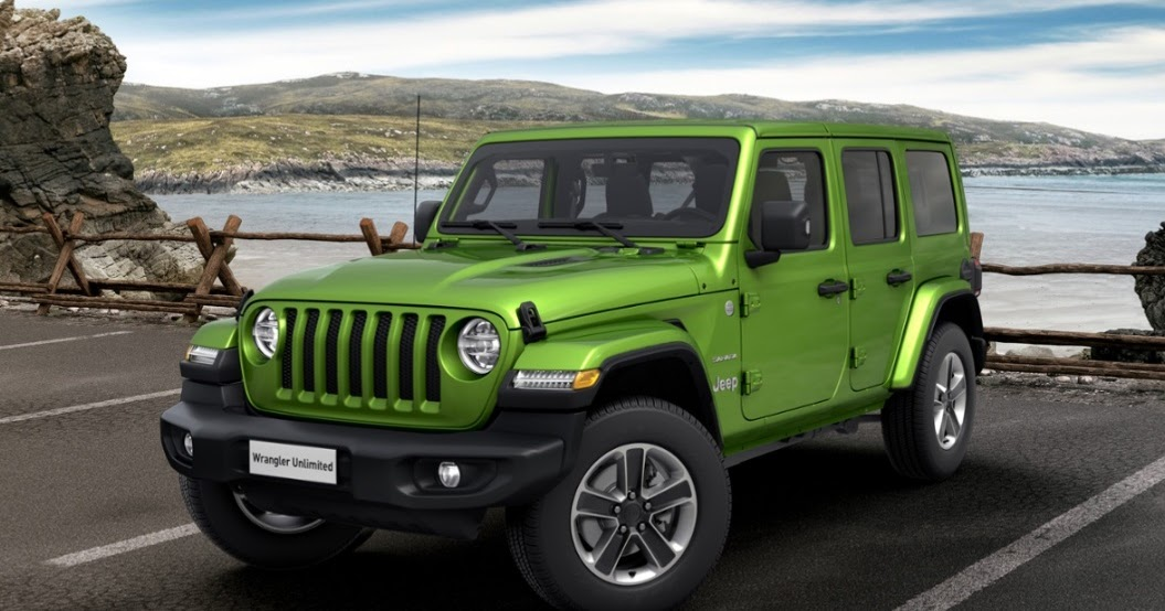 Jeep Wrangler (2019) - Couleurs / Colors
