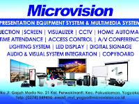 Lowongan Kerja Kepala Cabang dan Marketing Executive di PT. Microvision Indonesia - Penempatan Yogyakarta dan Semarang