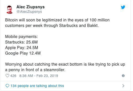 Với gần 100 triệu khách hàng, Starbucks và Bakkt sẽ giúp tiền điện tử được áp dụng rộng rãi?