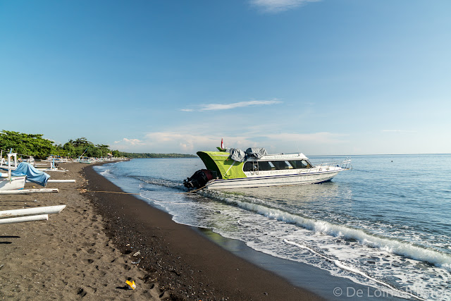 Bateau pour les Gili - Amed - Bali
