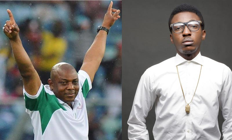 Frank Edwards on Stephen Keshi's death: Let's celebrate our heroes now they are still alive