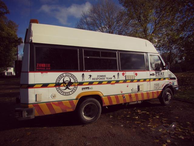 Zombie Response Team bus