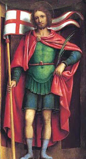 Sant'Alessandro, as portrayed by artist Bernardino Luini in 1525