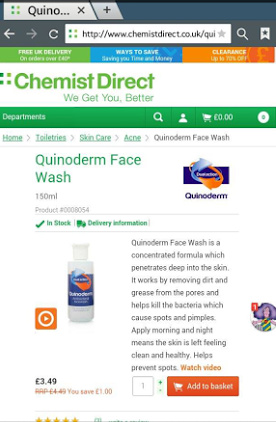 Chemist Direct Review Quinoderm image