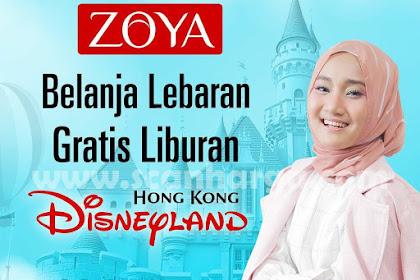 Promo Produk Zoya Belanja Lebaran Gratis Liburan Hingga 24 Juni 2018