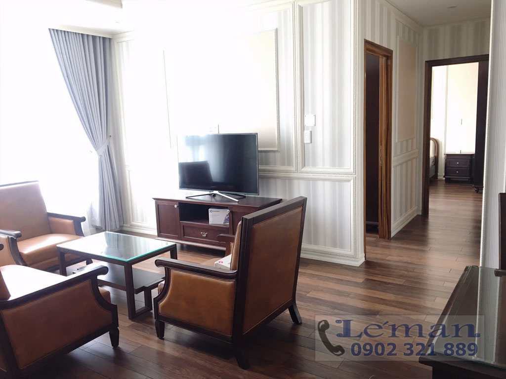 Léman Luxury trên đường Nguyễn Đình Chiểu cho thuê căn hộ 2PN - hình 3