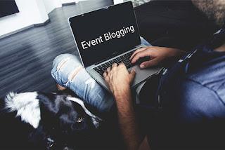 how to make event blog