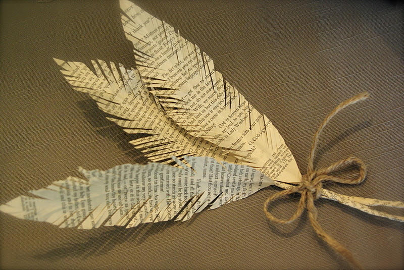 Oleander And Palm Paper Feathers