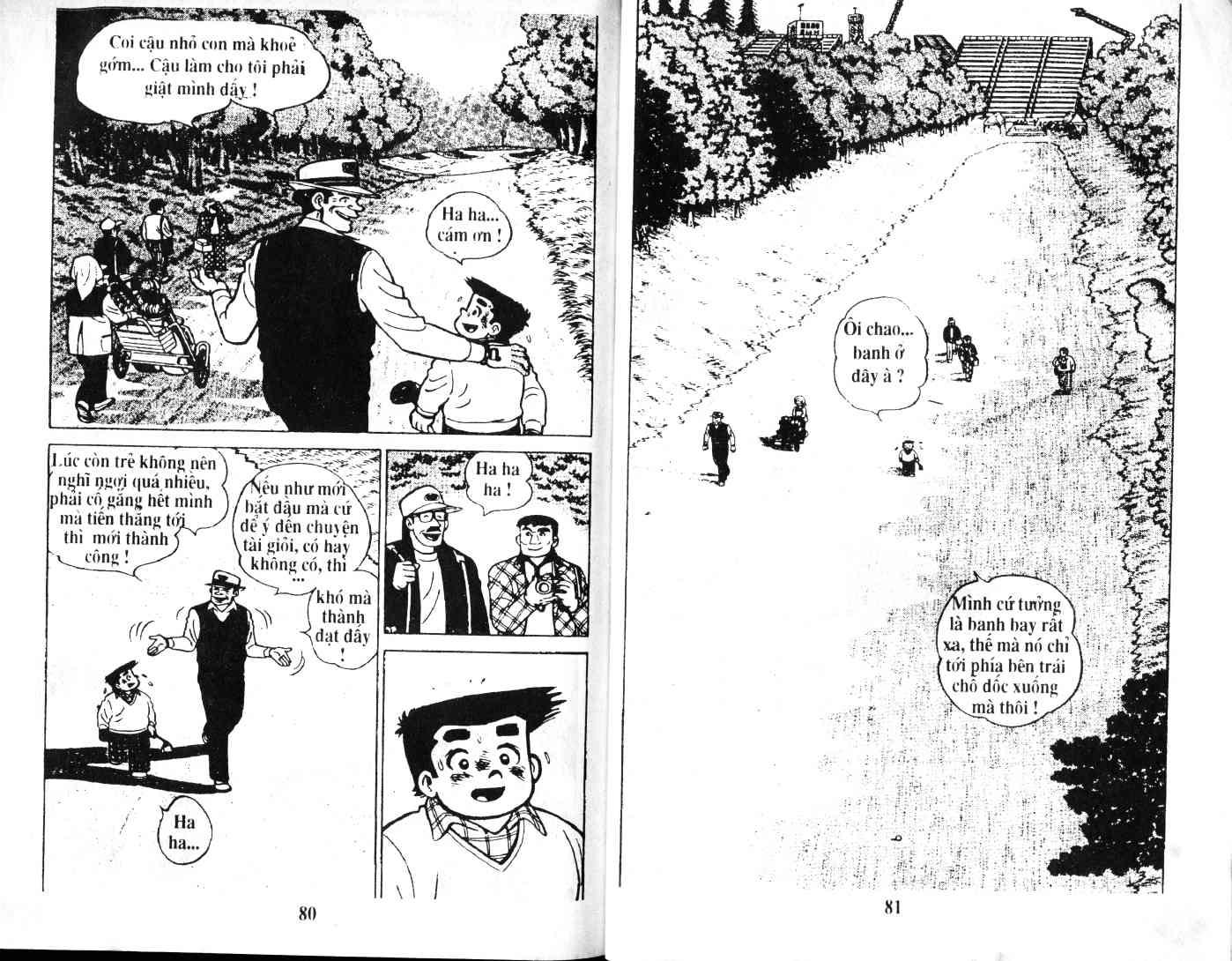 Ashita Tenki ni Naare chapter 35 trang 39