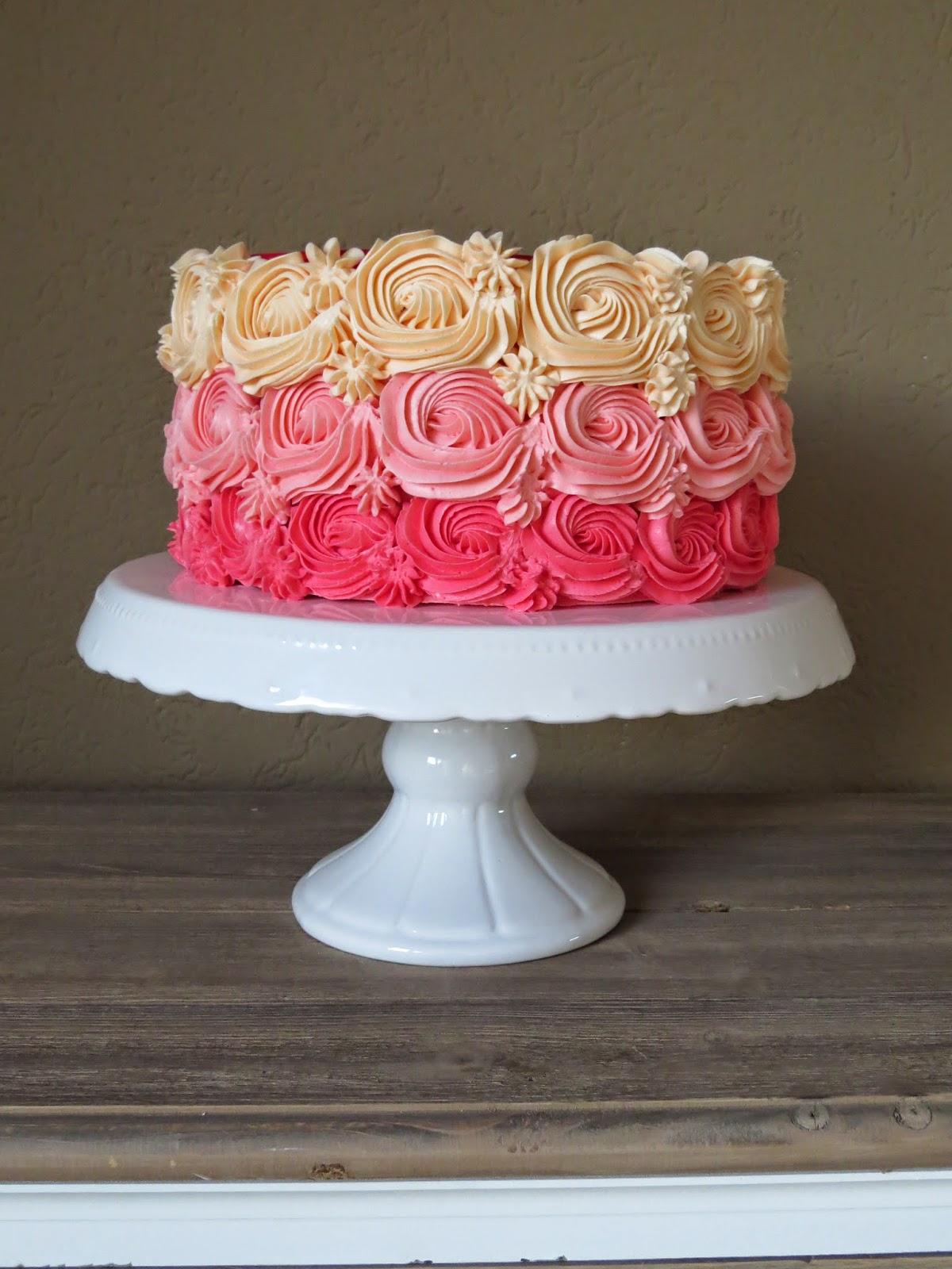 Swirl Cake Tutorial