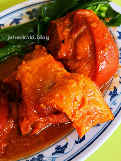 Chinatown-Complex-Red-Fermented-Bean-Curd-Pork-Trotter-南乳燜豬手