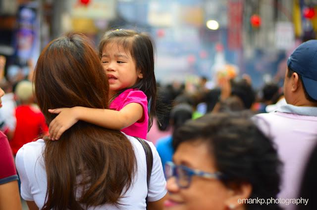 CHINATOWN PHOTOWALK 2016: Girl in tantrums