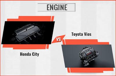 So sánh phần động cơ giữa Toyota Vios 2017 và Honda City, tôi biết chọn xe nào ?
