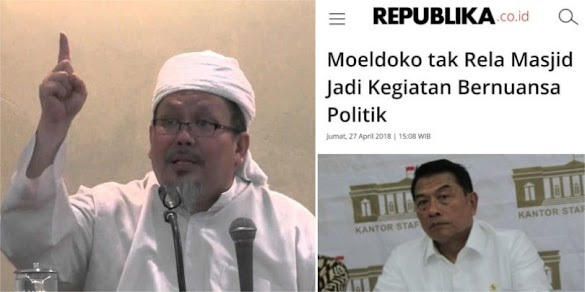 Wasekjen MUI: Tak ada satu manusia pun yang berhak melarang Ulama bicara Politik di Masjid!