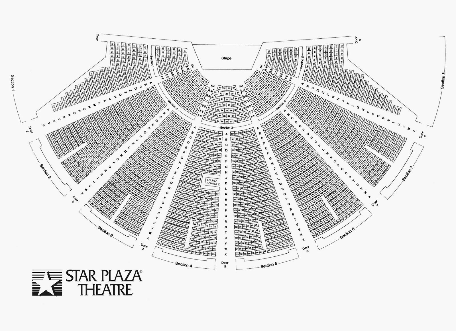 Star plaza seating chart brokeasshome com