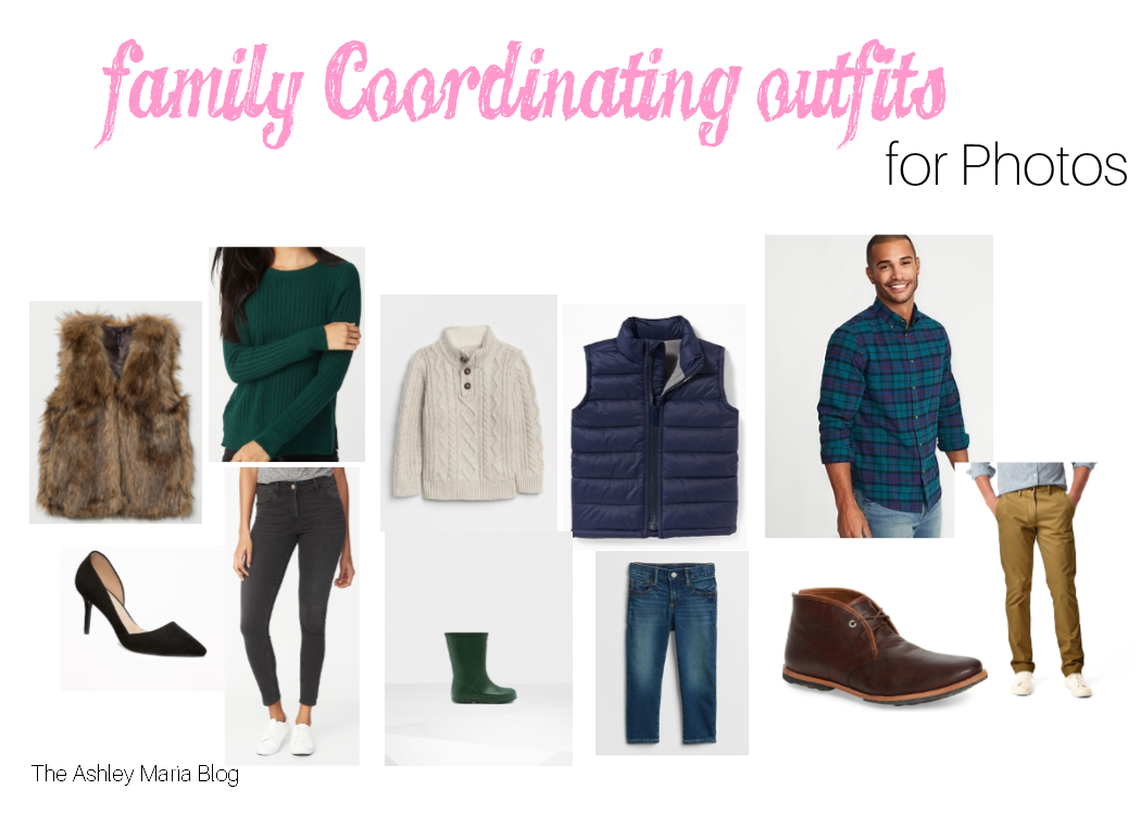2770151ed3d6f The Ashley Maria Blog: Coordinating Outfits for Pictures