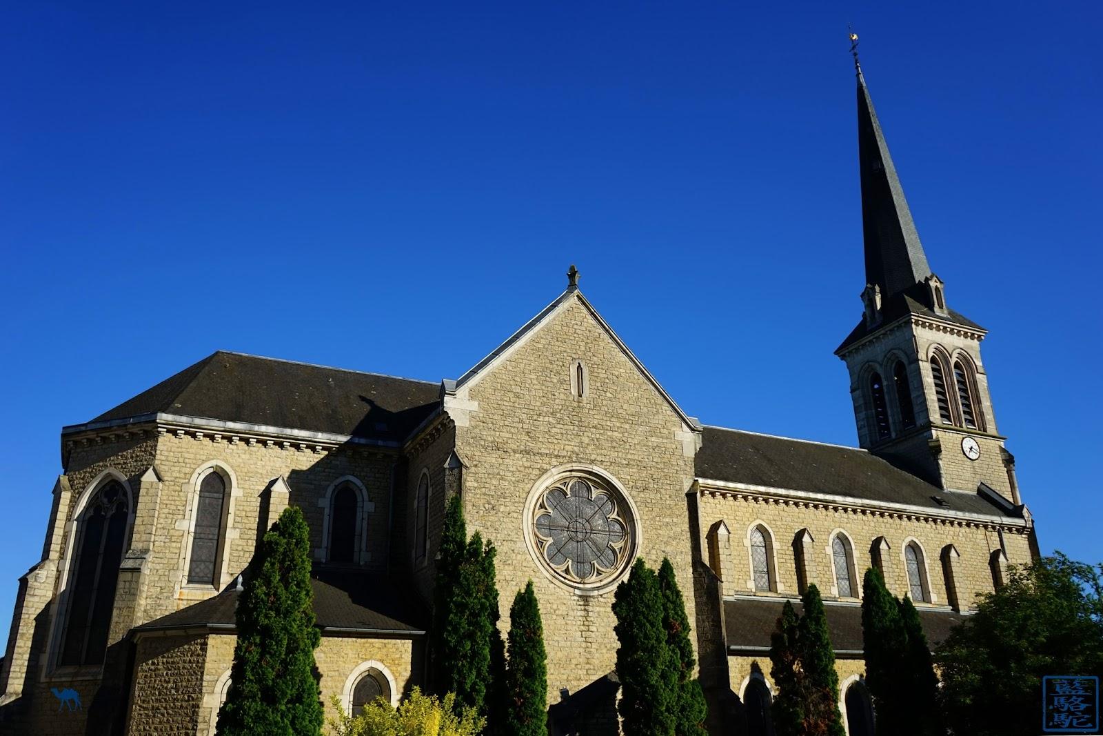 Le Chameau Bleu - Notre Dame du Rosaire à Santenay