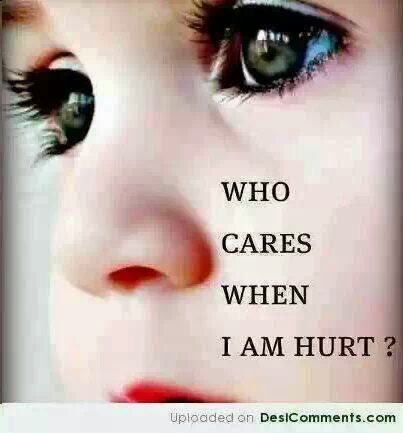 Who Cares When I Hurt Quotes