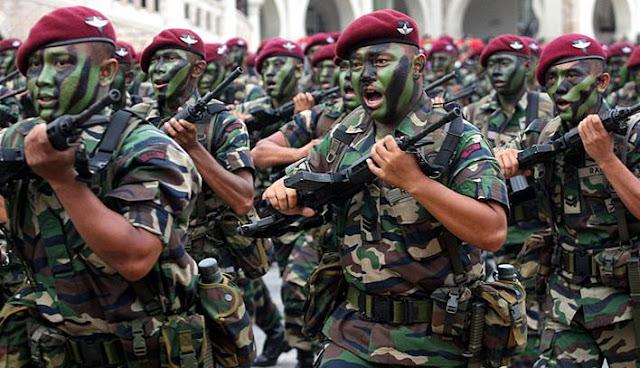 Inilah Alasan Kenapa Militer Malaysia Tidaklah berdaya Tanpa Indonesia