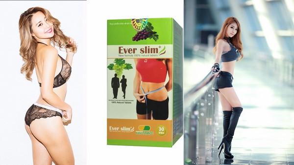 Đây là lý do bà nhiều chi em phụ nữ tin dùng viên giảm cân Ever slim để giảm cân trước và sau tết